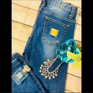 Stunning Distressed Dolce & Gabbana Straight Leg Jeans